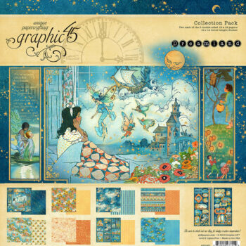 Graphic 45 Dreamland Collection Pack 12 x 12