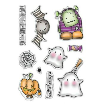 FAB-BOO-LOUS Halloween Stamps