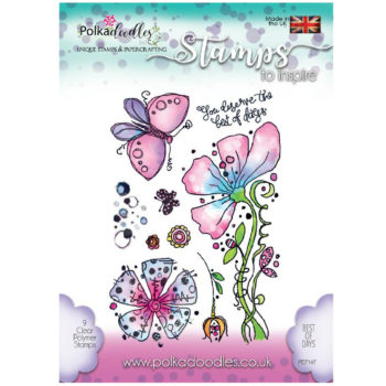 Polkadoodles Best of Days Stamps