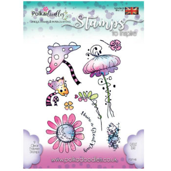 Polkadoodles Great Days Stamps