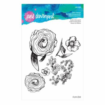 Spellbinders Build a Bouquet Clear Stamp Set