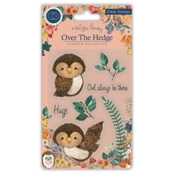 Olivia the Owl Clear Stamps