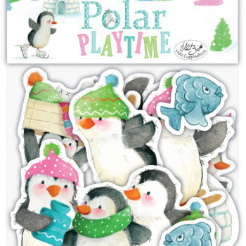 Polar Playtime Wooden Shapes