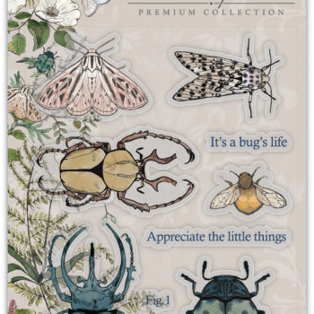 The Emporium Beetles Clear Stamps