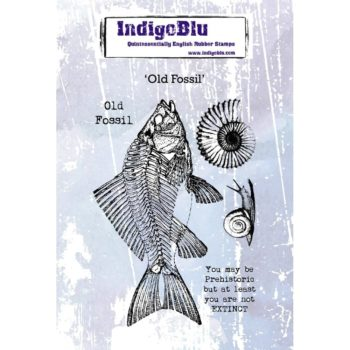 Indigoblu Old Fossil mounted stamp set