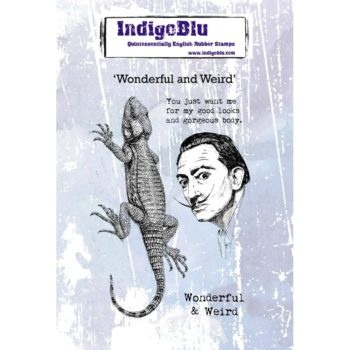 Indigoblu Wonderful and Weird stamp set