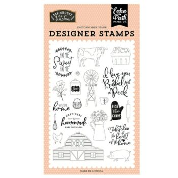 Echo Park Heart of the Home Clear Stamps