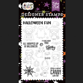 Too Cute To Spook Clear Stamps