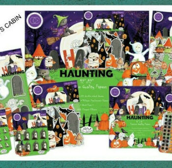 Happy Haunting Craft Collection from Craft Consortium