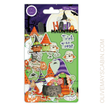 Trick or Treat Stamp Set from Craft Consortium