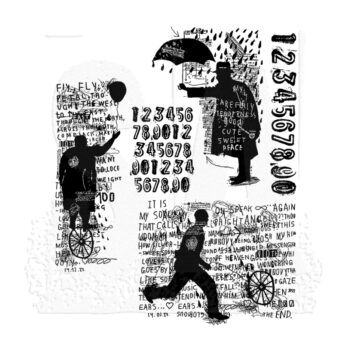 Sideshow Rubber Stamp Set by Tim Holtz