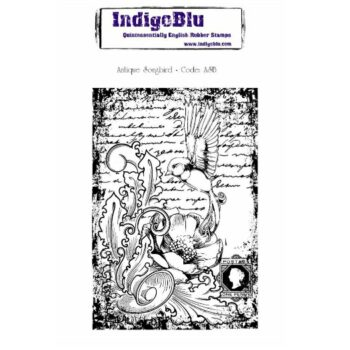IndigoBlu Antique Songbird Rubber Stamps