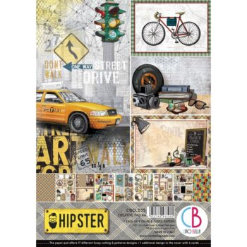 Ciao Bella Hipster A4 Pad