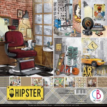 Ciao Bella Hipster 12 x 12 Pad