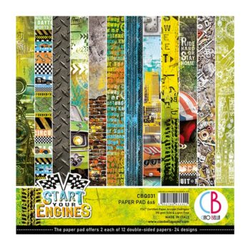 Ciao Bella Start Your Engines 6 x 6 Pad