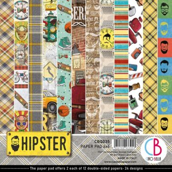 Ciao Bella Hipster 6 x 6 Pad