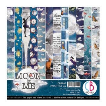 """Ciao Bella Moon and Me 6 x 6"""" Paper Pad"""
