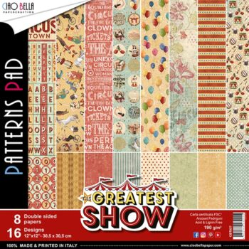 The Greatest Show - 12x12 Patterns Pad