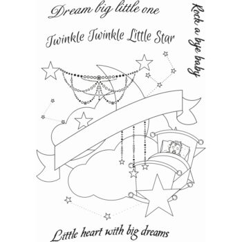 Sweet Dixie A6 Stamp Set - Tattoo Dreams Collection