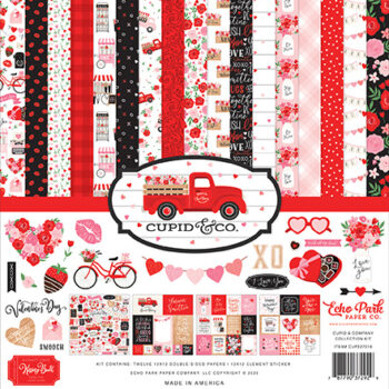 """Echo Park Cupid & Co Collection Kit 12 x 12"""""""