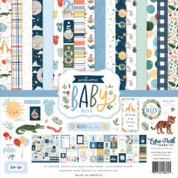 echo-park-welcome-baby-boy-12x12-collection kit