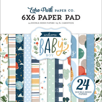 Echo Park Welcome Baby Boy 6 x 6 Paper Pad