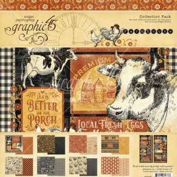 Graphic 45 Farmhouse Collection Pack