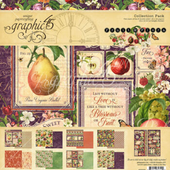 Graphic 45 Fruit & Flora 12 x 12 Collection Pack