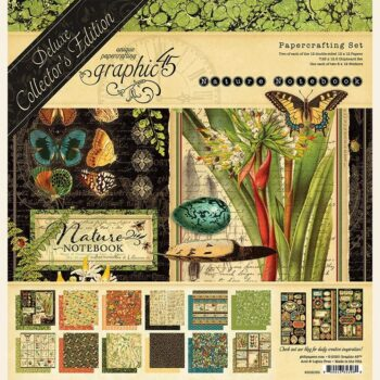 Graphic 45 Natures Notebook Deluxe Collectors Edition