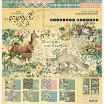 Graphic 45 Woodland Friends Collection Pack