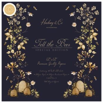 Tell The Bees Special Edition 12 x 12 Pad