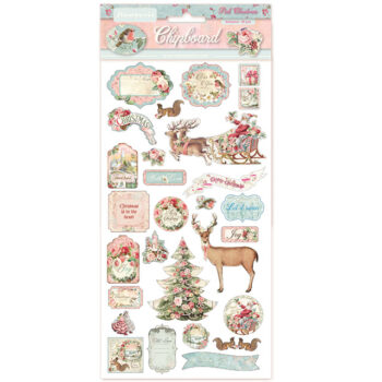 stamperia-chipboard-pink-christmas