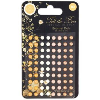 Tell the Bees Special Edition Enamel Dots