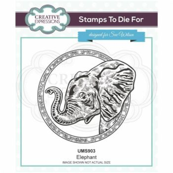 Elephant Rubber Stamp - Safari Collection