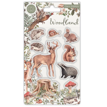 Woodland Collection - Animals Clear Stamp set