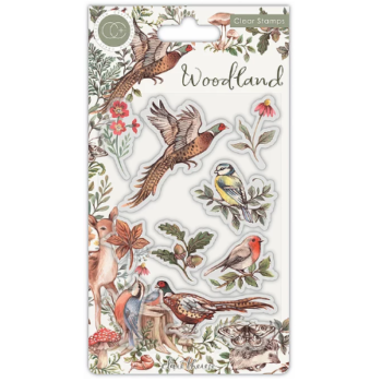 Woodland Collection - Birds Clear Stamp set