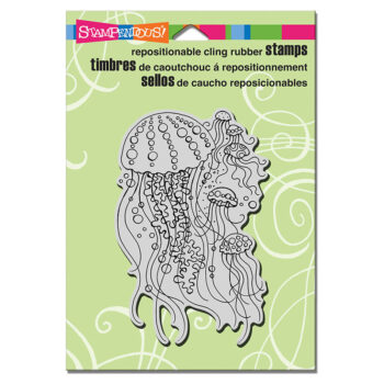Stampendous Jellyfish Rubber Stamp