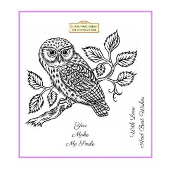 Little Owl Clear Stamp Set