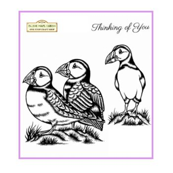 Sweet Dixie Stamp Set Puffins
