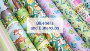 New Craft Products - Bluebells and Buttercups