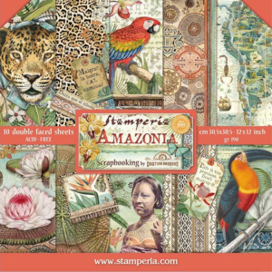 Stamperia Amazonia Paper Craft Collection